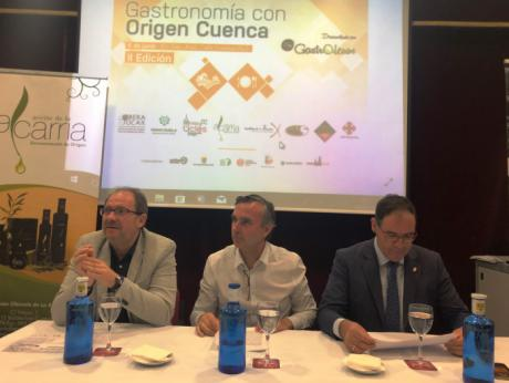 La Junta destaca el papel de la gastronomía con eje del turismo en la provincia