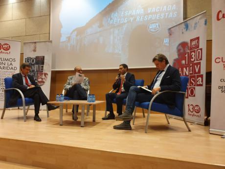 La Diputación interviene en una jornada sobre 'La España vaciada' celebrada en Soria
