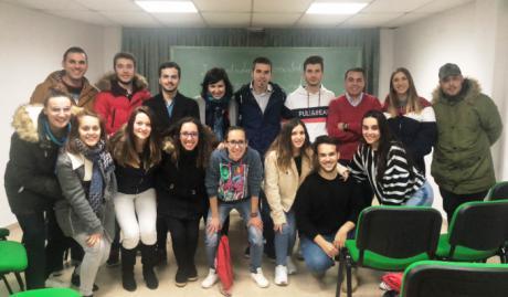 Juventudes Sociales refuerza la Agrupación Local de Horcajo de Santiago con la incorporación de una decena de nuevos afiliados