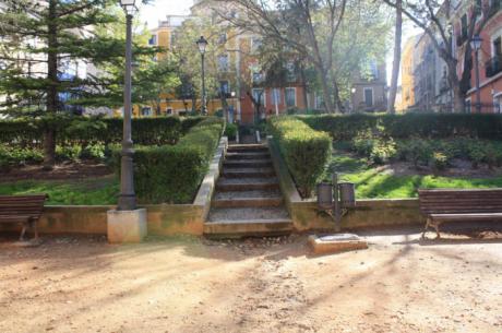 Iniciada la obra de 'Urbanización del Jardinillo de El Salvador' por 102.838 euros