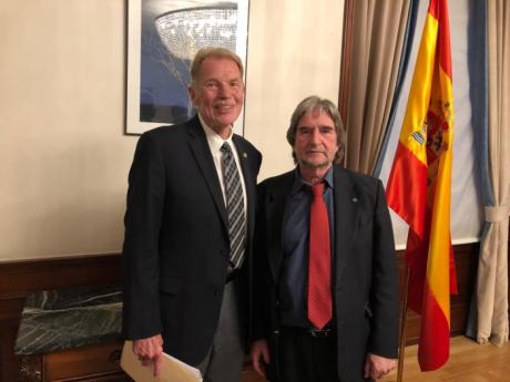 Jareño se reúne con David W. Murray, investigador del Hudson Institute de EEUU