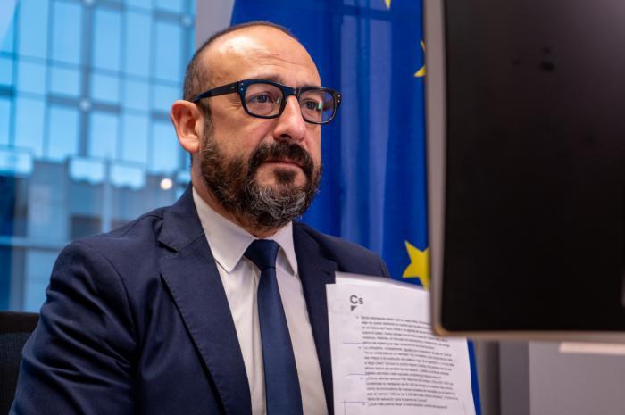 Jordi Cañas, eurodiputado de Ciudadanos