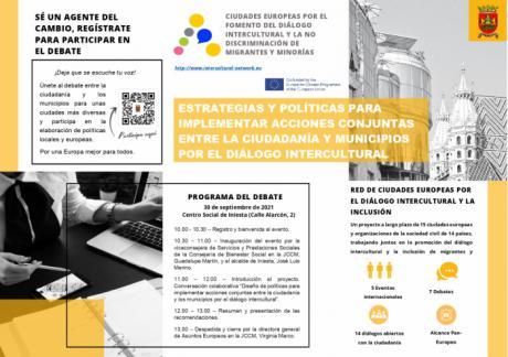 Iniesta acogerá la jornada 'Estrategias y políticas para implementar acciones conjuntas entre la ciudadanía y los municipios por el diálogo intercultural'