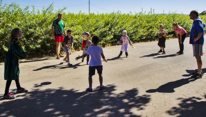 El Club Rugby A Palos lleva hasta Villar de Olalla su proyecto de difusión