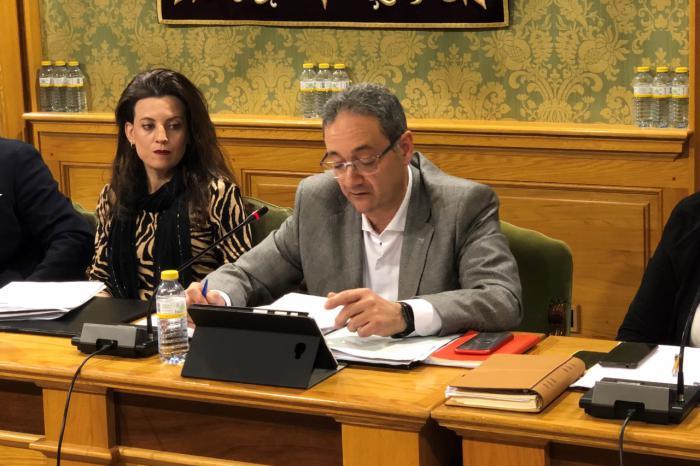 Juan Manuel Martínez Melero, concejal de Hacienda y Seguridad Ciudadana