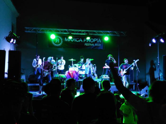 """Todo listo en Ribatajada para que este sábado se celebre el festival de música """"Marca Propia"""""""