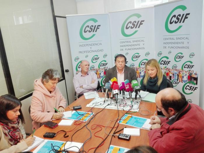 CSIF exige la derogación de la 'ley Cospedal'