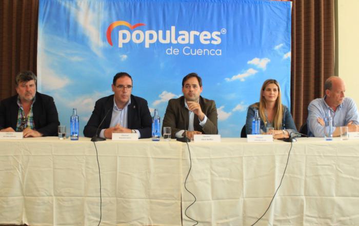 Agudo recuerda que el PP continúa trabajando para gobernar en el máximo número de ayuntamientos de la región