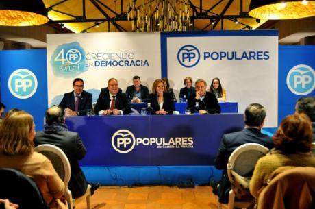 El PP afirma que trabaja para garantizar el bienestar social de todos los castellano-manchegos