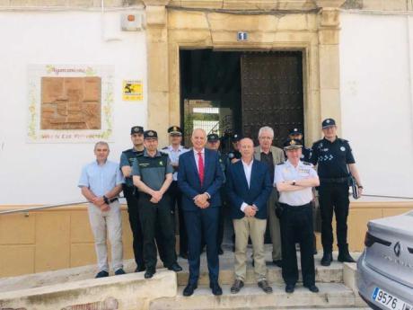 La Junta Local de Seguridad prepara el inicio de la campaña del ajo en Las Pedroñeras