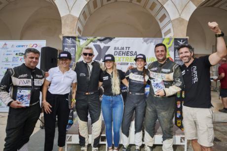 Mónica Plaza demuestra sus posibilidades y termina en quinta posición la primera carrera del Campeonato de España en Extremadura