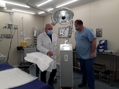 El Hospital Recoletas de Cuenca adquiere un láser quirúrgico para soluciones ginecológicas