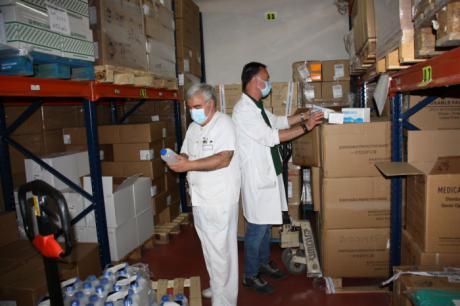 Se distribuyen más de 35.000 artículos de protección y otros 2.000 test rápidos para el área de Salud de Cuenca