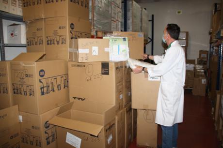 Llegan 4.800 test rápidos para el área de Salud de Cuenca y más de 21.000 artículos de protección