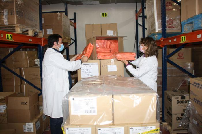 Sanidad ha enviado diez equipos de ventilación mecánica al Virgen de la Luz