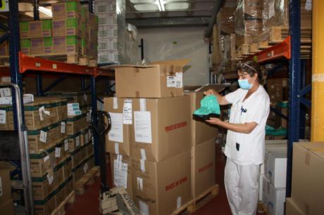 El área de Salud de Cuenca ha recibido de Sanidad una nueva partida con más de 19.700 artículos de protección
