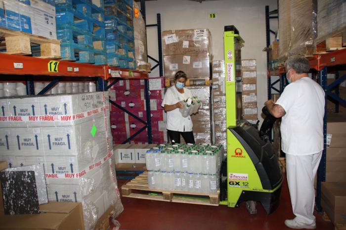 Sanidad envía al área de Salud de Cuenca una nueva partida con más de 19.600 artículos de protección