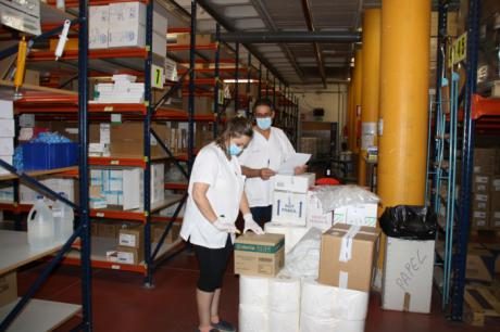 El área de Salud de Cuenca ha recibido de Sanidad más de 23.400 artículos de protección y 2.963 test rápidos