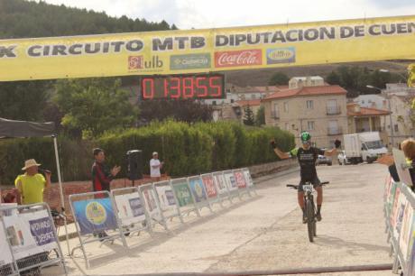 Yago Sardina y Desiré Moya se imponen en Fuentes en la 13ª prueba del X Circuito MTB Diputación de Cuenca