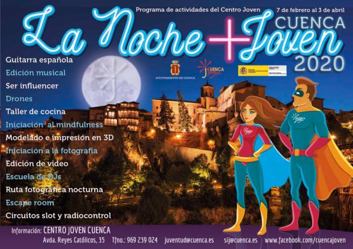 Este viernes se inicia una nueva edición de La Noche +Joven