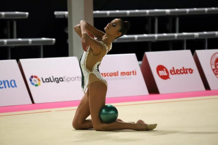 Lucía Romero obtiene una meritoria 12ª posición en cinta en el Campeonato de España Individual absoluto y autonomías