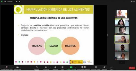 La manipulación de alimentos en la agenda formativa de Cooperativas