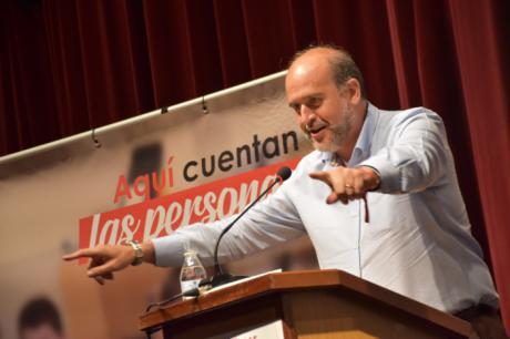 """Martínez Guijarro: """"El 26 de mayo está en juego seguir avanzando o que vuelvan los recortes"""""""