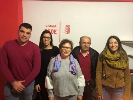 La Agrupación Local del PSOE de Ledaña elige a Rosa María Plaza como candidata a la alcaldía del municipio