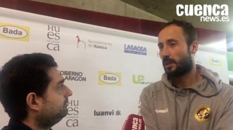 Leo Maciel valora la victoria en Liga del Liberbank Cuenca