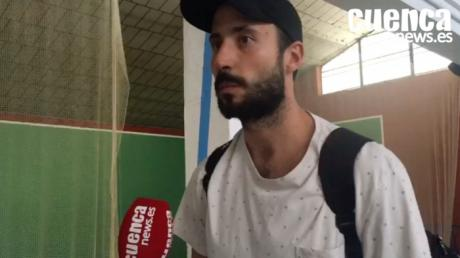 Leo Maciel valora la primera victoria en Liga del Liberbank Cuenca