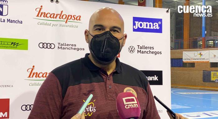 Lidio Jiménez, entrenador del Incarlopsa Cuenca