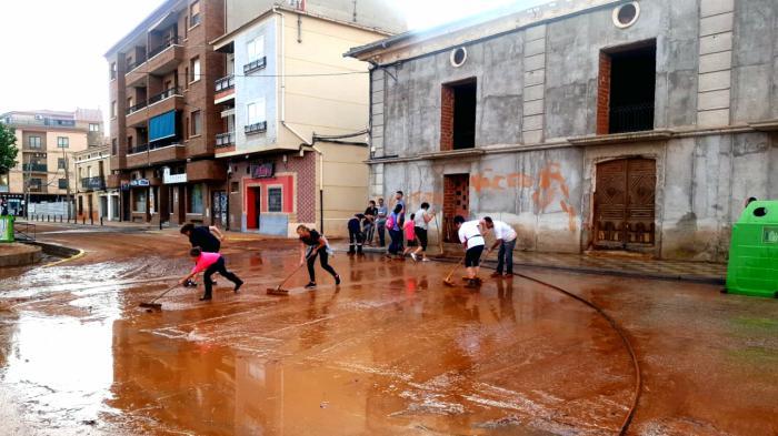 Juan Rodríguez visita los municipios afectados por las inundaciones del pasado fin de semana