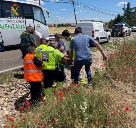 Un guardia civil fuera de servicio localiza a un hombre de avanzada edad desaparecido en la localidad de Yuncos