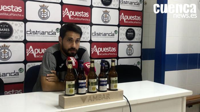 Sala de Prensa | Luis Ayllón - [U.B. Conquense 0 - 3 FC Barcelona B]