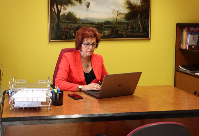 Mª Ángeles García, concejal y portavoz en el Ayuntamiento de Cuenca en Marcha