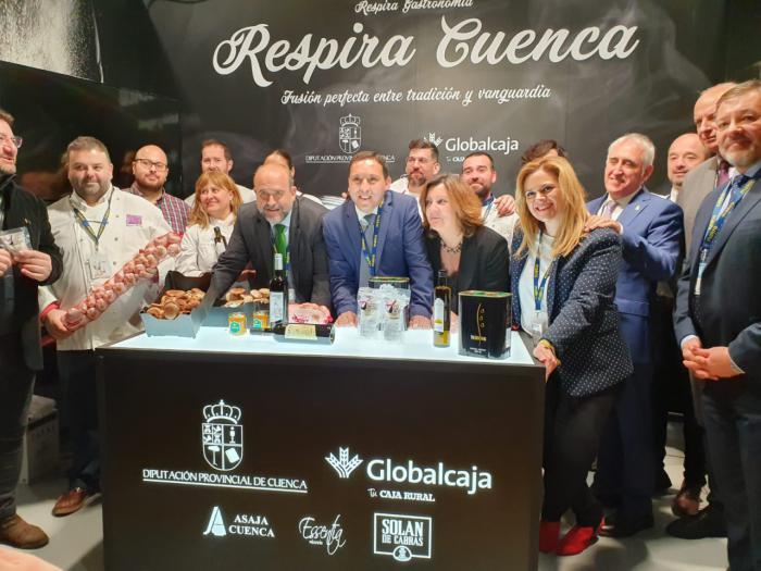 """""""Hoy es el inicio de una larga relación entre la Diputación y Madrid Fusión, ya que estaremos en futuras edicione"""""""