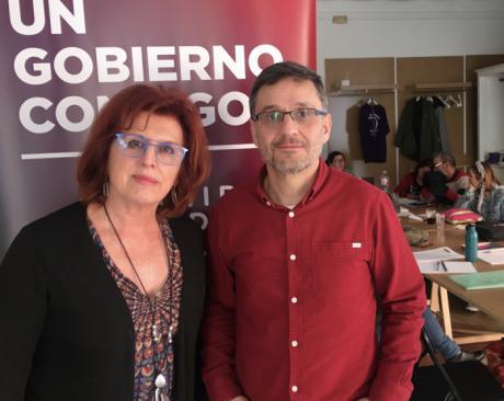 La conquense Mª Ángeles García Jiménez fortalece la portavocía de Podemos en la región