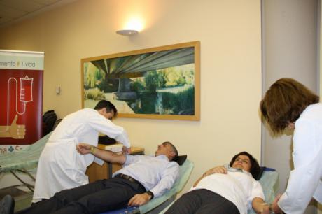 La Junta felicita a los estudiantes del campus universitario por su solidaridad en la maratón de donación de sangre