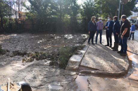 La Diputación solicitará que toda la provincia sea incluida como zona gravemente dañada por el temporal DANA