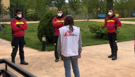 Médicos Sin Fronteras y Diputación ayudarán a las residencias en la preparación de la desescalada