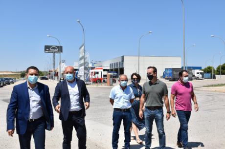 La Diputación colabora con 110.000 euros para que el Ayuntamiento de Minglanilla mejore el polígono industrial