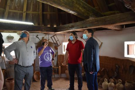 La Diputación colabora con el Ayuntamiento de Mota del Cuervo en la restauración del Molino de Piqueras