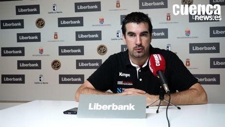 Sala de Prensa | Magí Serra Cortina - [Liberbank Cuenca 31-16 C.B. Cangas Frigoríficos Morrazo]