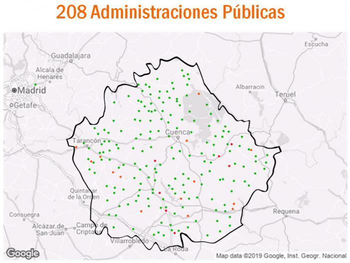 Doménech aclara a los agrónomos que son, al menos, 208 los Ayuntamientos que cuentan con sede electrónica