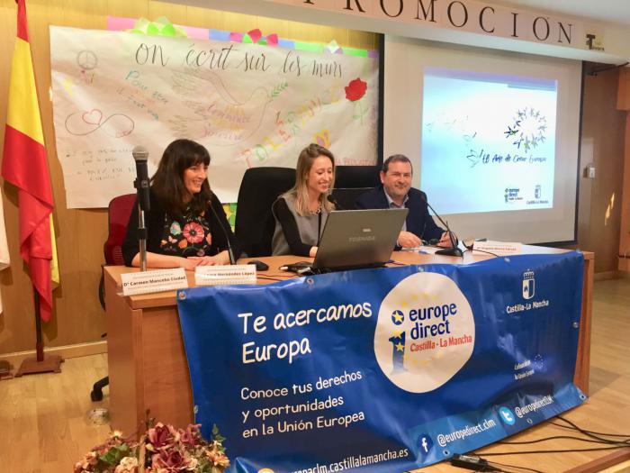 """Castilla-La Mancha acerca """"el arte de crear Europa"""" a las aulas de la región"""