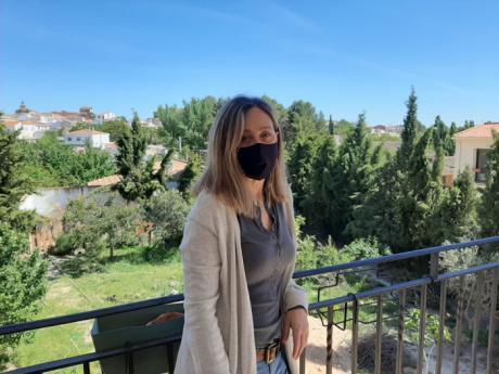 Mari Paz Martínez, portavoz del PSOE en Villaescusa de Haro
