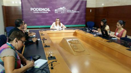 María Díaz renuncia a sus privilegios como Vicepresidenta primera de las Cortes de Castilla-La Mancha