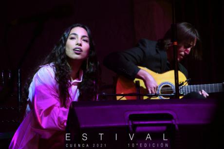 María José Llergo deja en Estival Cuenca una actuación para el recuerdo