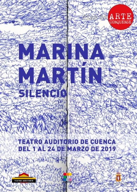 """El Auditorio acoge desde mañana la exposición """"Silencio"""", de la pintora Marina Martin"""
