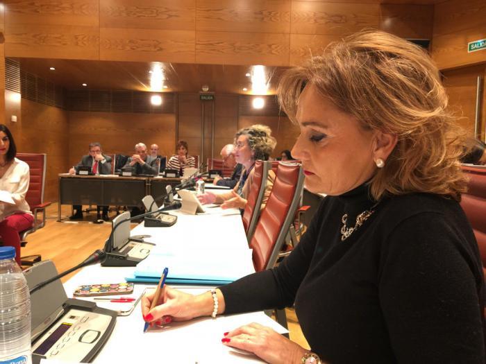 Martínez exige a la ministra Batet cumplir con el acuerdo de Montoro con los sindicatos
